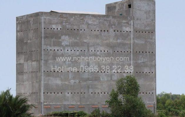 Xây dựng nhà yến ở Tiền Giang