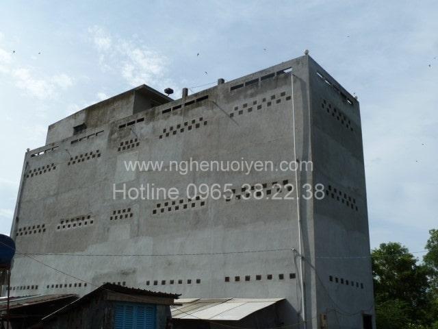 Xây dựng nhà yến ở Đắk Lắk