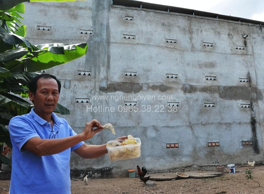 Xây dựng nhà yến ở Gia Lai
