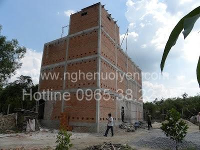 Xây dựng nhà yến ở Lâm Đồng