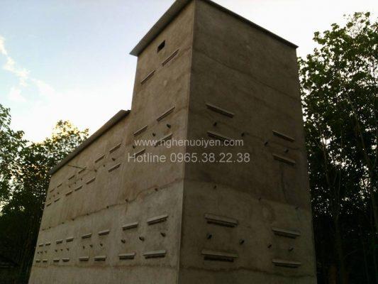 Xây dựng nhà yến ở Kon Tum