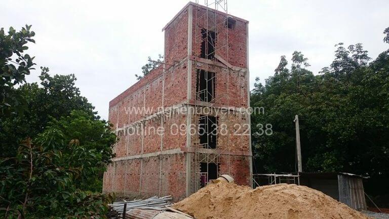 Nhà yến xây dựng bê tông cốt thép
