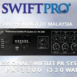 Ampli 2.0 Swiftpro PA-3300
